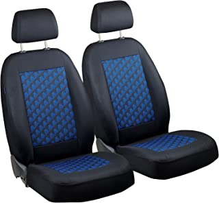 Coprisedili Anteriori AURIS Versione con Fori per i poggiatesta e bracciolo Laterale compatibili con sedili con airbag 2007-2012