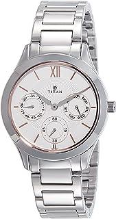 Titan Ladies Neo - Ii Analog White Dial Women's Watch NM2570SM03/NN2570SM03