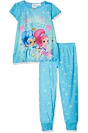 Conjuntos de Pijama para Ni/ñas Shimmer And Shine Believe In Magic