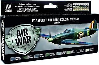 Vallejo FAA (FLEET AIR ARM) Colors 1939-1945 'Air War Color Series' Model Paint Kit