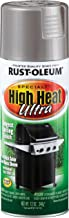 Rust-Oleum 270201 Specialty Silver High Heat Ultra Spray Paint, 12-Ounce