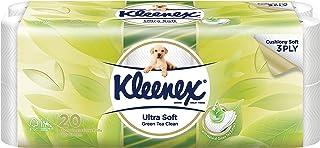 Kleenex Ultra Soft Scented Bath Tissue, Green Tea, 200ct (Pack of 20)