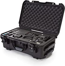 Nanuk 935 - Funda rígida impermeable con inserto de espuma para Canon, Nikon, 2 DSLR cuerpo y lente/lentes - negro