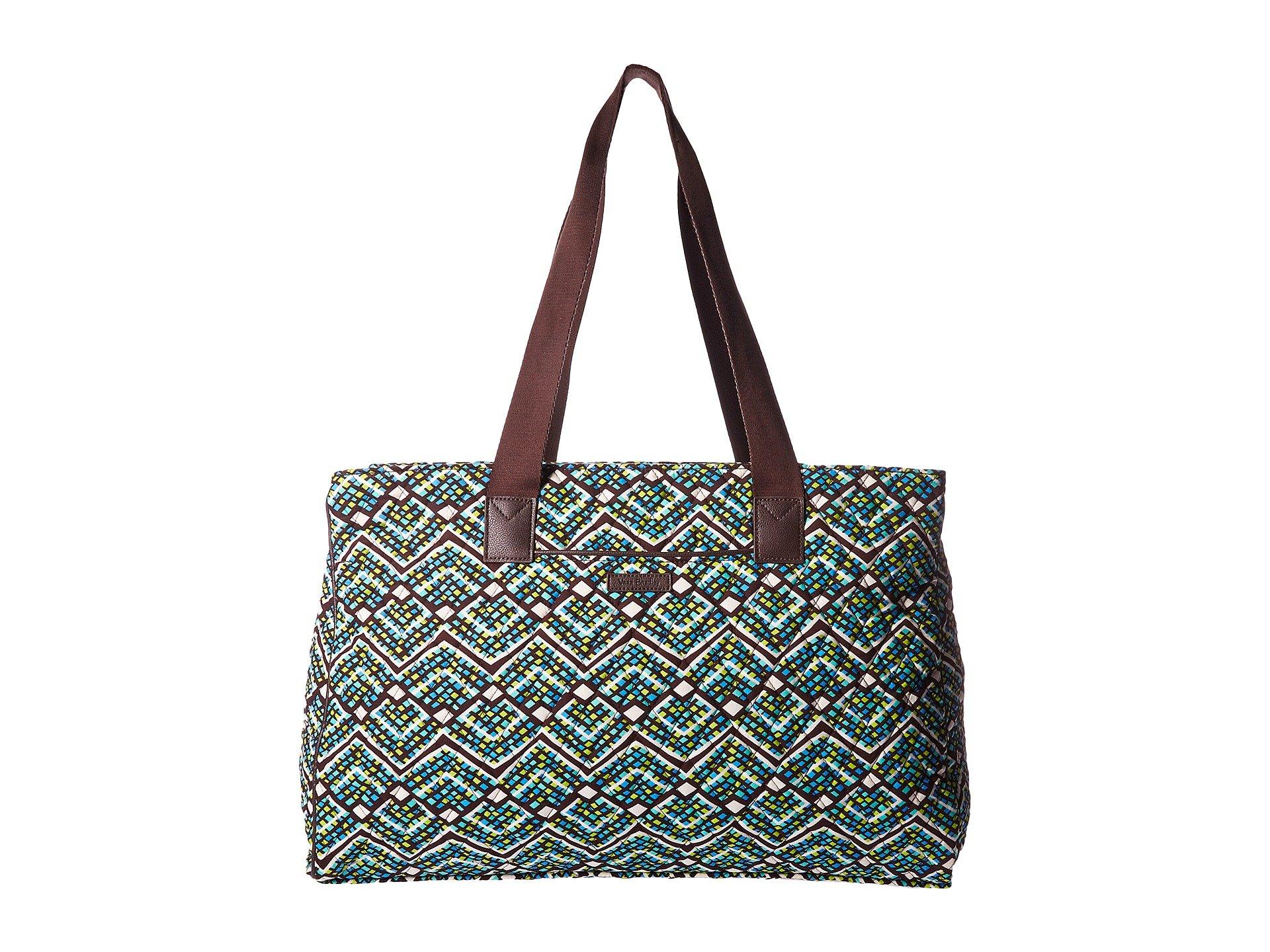 Bolso de Lona para Mujer Vera Bradley Triple Compartment Travel Bag  + Vera Bradley en VeoyCompro.net