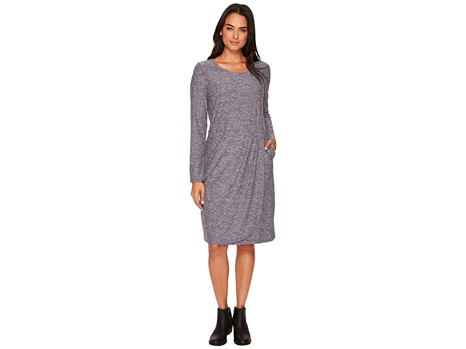 ExOfficio Wanderlux Tulipa Marl Dress (Black Marl) Women