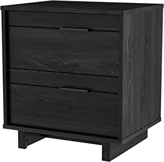 South Shore Fynn Collection Nightstand - Gray Oak