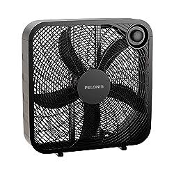 PELONIS PFB50A2ABB-V 3-Speed Box Fan