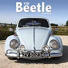 VW Beetle Calendar- Calendars 2019 - 2020 Wall Calendars - Car Calendar - Automobile Calendar - Beetle 16 Month Wall Calendar by Avonside (Multilingual Edition)