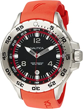 Nautica Mens N12551G Analog NST Date Watch
