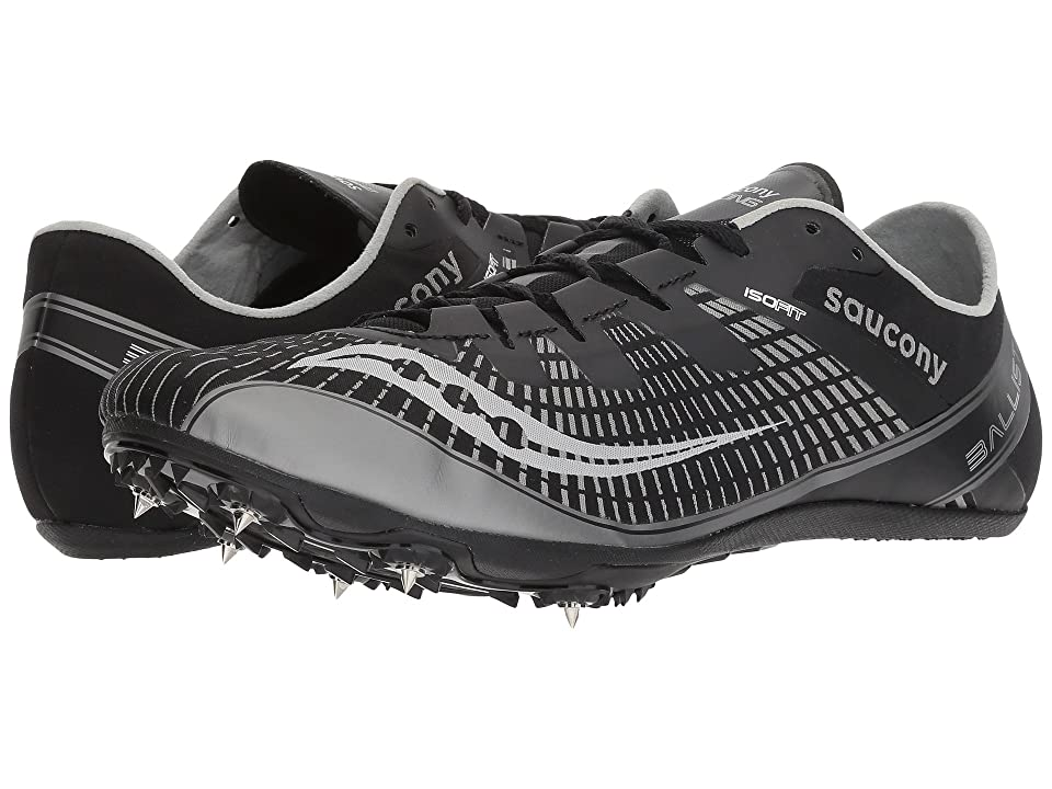 Saucony Ballista 2 (Black/Silver) Men