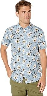 Men's Baboo Short Sleeve Plian Sateen Shirt