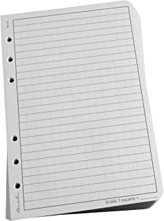 "Rite in the Rain All-Weather Loose Leaf Paper, 4 5/8"" x 7"", 32# Gray, Universal Pattern, 100 Sheet Pack (No. 772)"