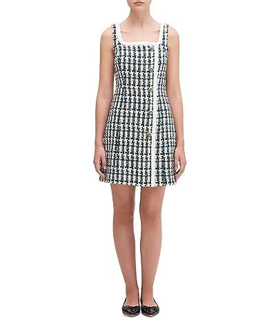 Kate Spade New York Pop Tweed Dress (Juniper) Women