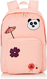 adidas Kids Cleofus Graphic Classic Backpack, Haze Coral/Black