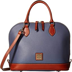 Pebble Zip Zip Satchel
