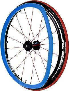 RehaDesign Ultra-Grrrip Wheelchair Push Rim Covers Blue