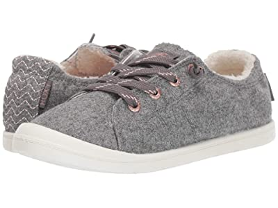 Roxy Bayshore Faux-Fur Lined Shoes (Grey) Women