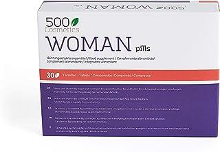 500Cosmetics Woman–Tabletas Naturales Para Aliviar los Síntomas