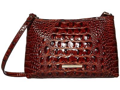 Brahmin Melbourne Lorelei Shoulder Bag (Pecan) Shoulder Handbags