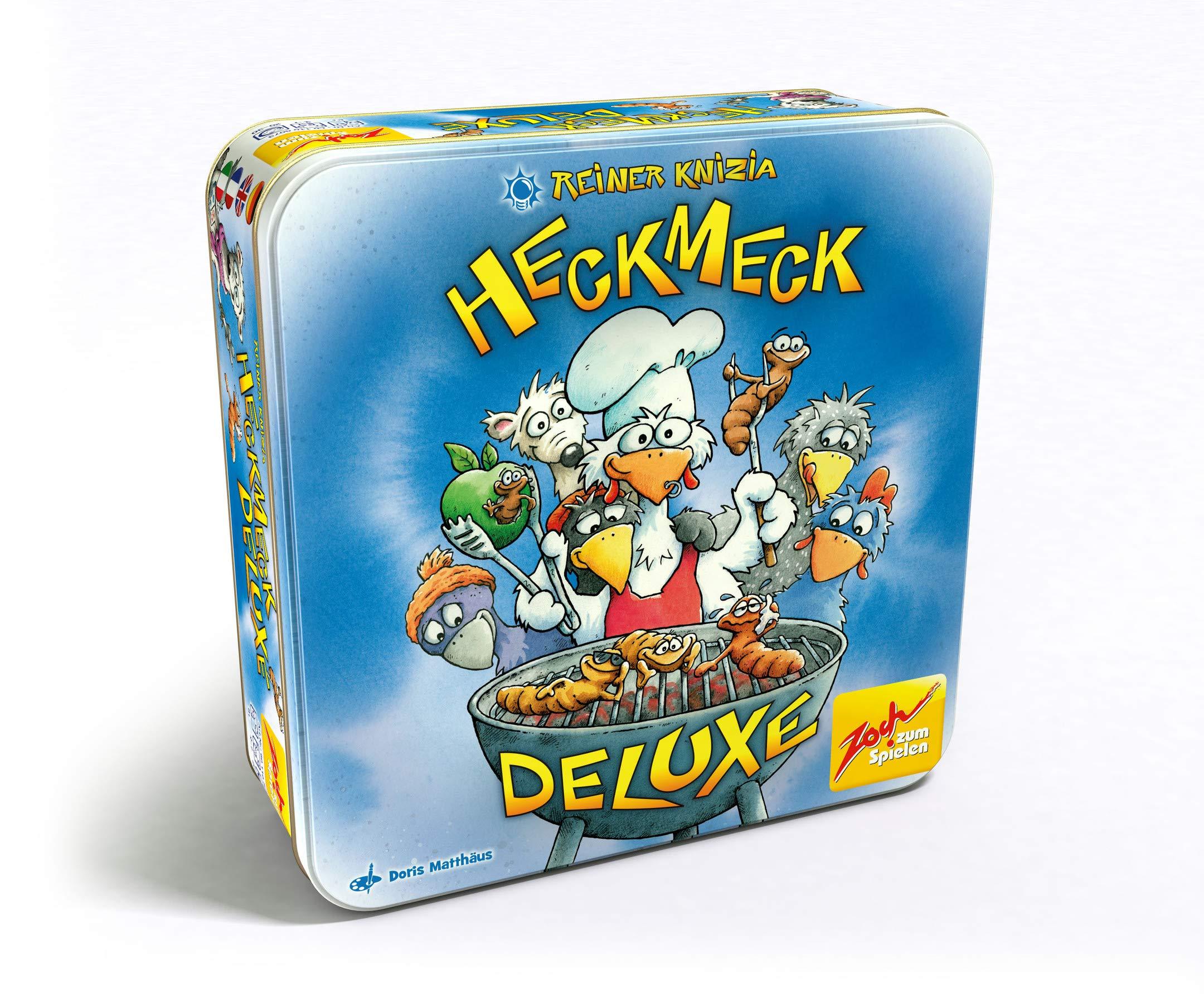 Zoch Heckmeck Deluxe Niños - Juego de Tablero (Niños, 8 año(s), Caja, 7 Pieza(s)): Knizia, Reiner: Amazon.es: Juguetes y juegos
