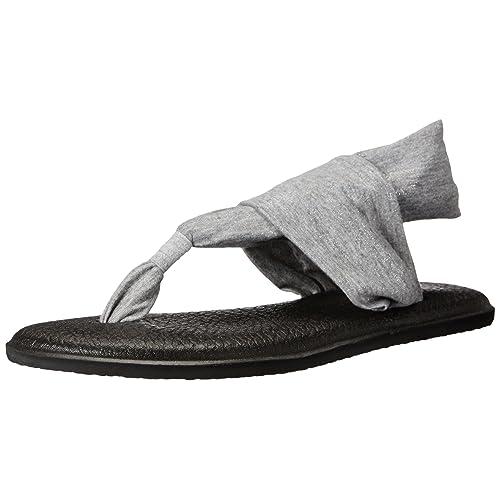 2bc73da511844 Sanuk Women s Yoga Sling 2 Metallic Flip Flop