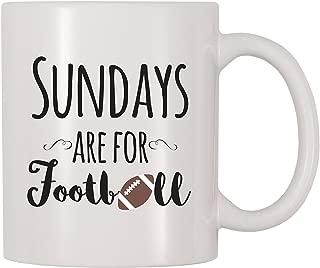 4 All Times Sundays Are For Football Coffee Mug (11 oz)
