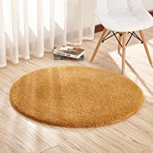 Super Soft Round 6.6 Feet Area Rugs for Bedroom Kids Rooms Living Room Playroom Fluffy Boys Girls Baby Kids Children Rugs ...