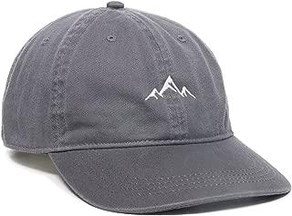 Outdoor Cap Unisex-Adult Mens Mountain dad hat - Unstructured Soft Cotton Cap AMZ4067459-P