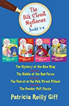 The Polk Street Mysteries Books 1–4: The Mystery of the Blue Ring, The Riddle of the Red Purse, The Secret at the Polk Str...