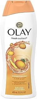 OLAY Fresh Outlast Champagne Mango White Ginger Body Wash 13.5 OZ/ 400 ML
