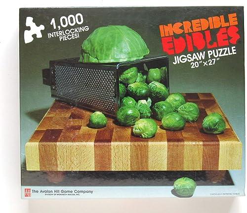 Incrotible Edibles Jigsaw Puzzle Cabbage-Copia 1000 pieces 20 x 27