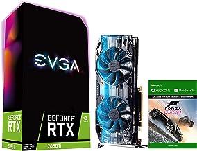 EVGA GeForce RTX 2080 Ti Gaming Graphics Card, 11GB GDDR6, VR Ready (VirtualLink), 4K, Ray Tracing, 3X DP 1.4, 1x HDMI 2.0...