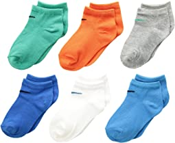 6-Pair Pack Colorful Low Cut Socks (Toddler)