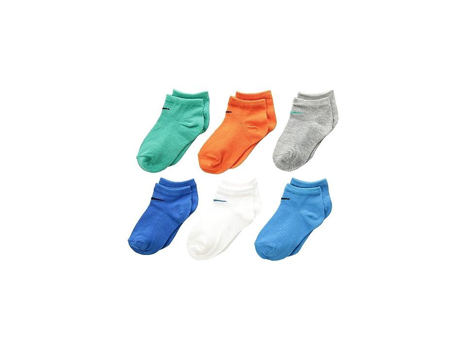 Nike Kids - Nike Kids 6-Pair Pack Colorful Low Cut Socks