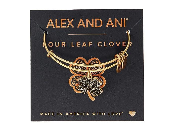Alex And Ani Path Of Symbols Four Leaf Clover Iv Bangle