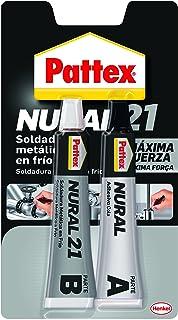 Pattex Nural 21, soldadura reparadora metálica en frío, pega&repara, ...