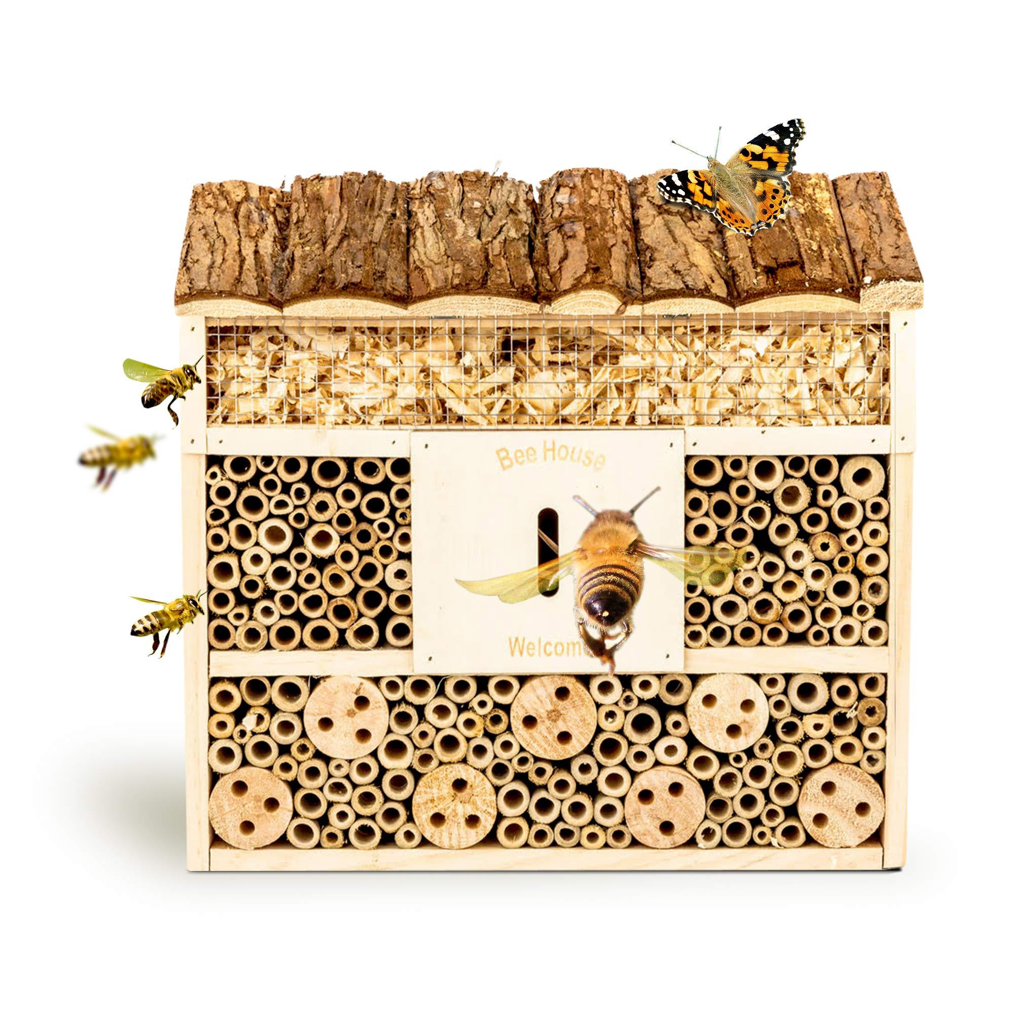bambuswald© Hotel de Insectos con 3 Pisos y casa de Mariposas ...