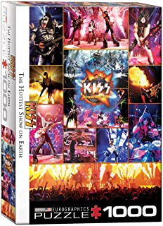 EuroGraphics KISS The Hottest Show on Earth 1000-Piece Puzzle