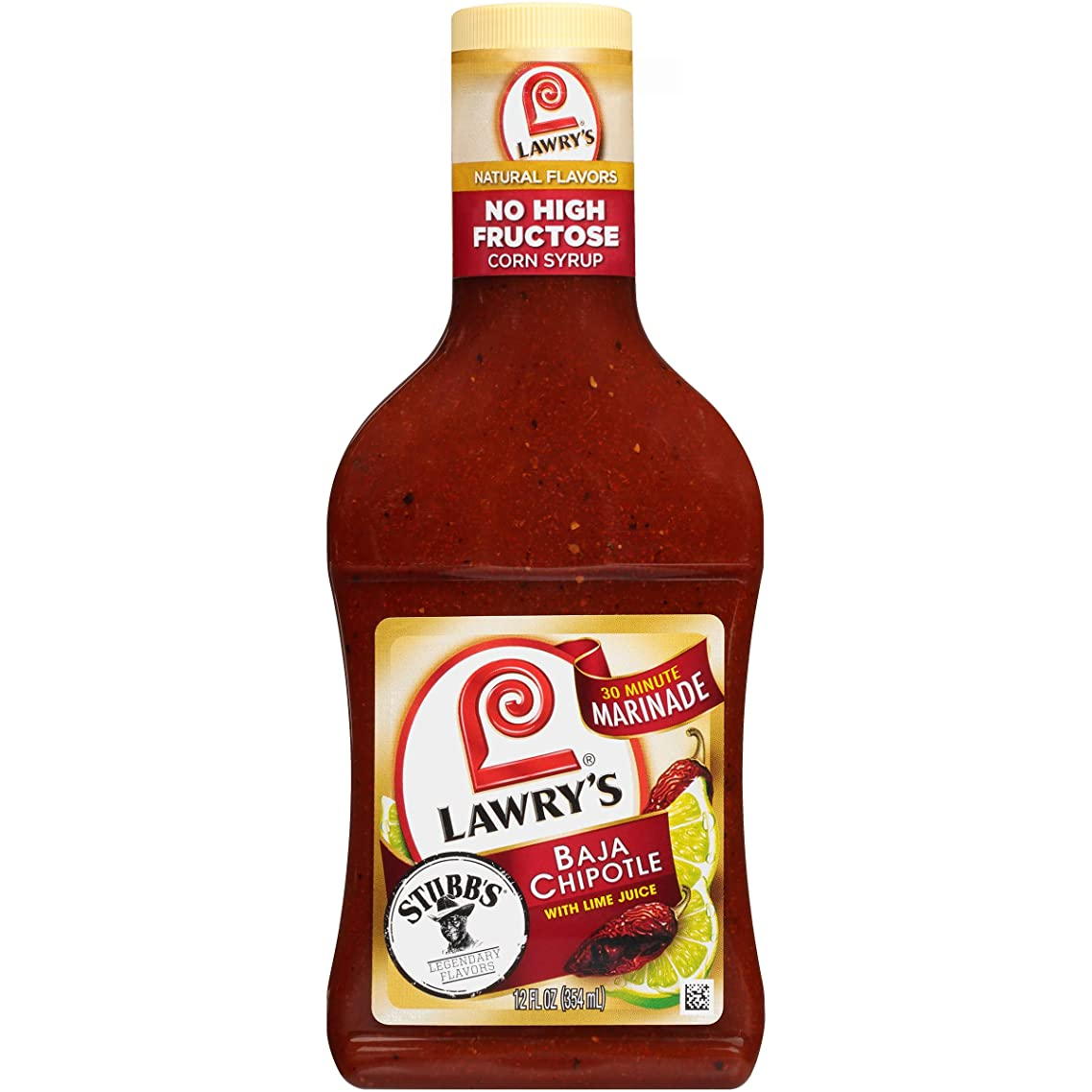 Lawry's Baja Chipotle Marinade, 12 fl oz (Pack of 6)