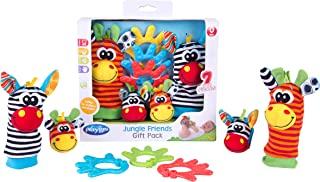Playgro Baby Toy Jungle Friends Gift Pack 0182436107 for baby infant toddler children is Encouraging Imagination with STEM...