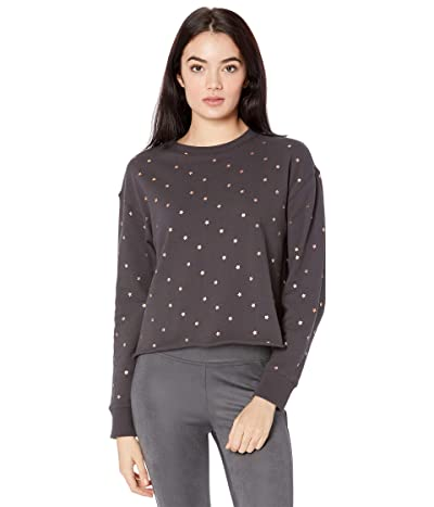 Spiritual Gangster Mazzy Pullover Sweatshirt (Vintage Black Cosmos) Women