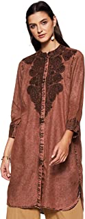 Women's Denim Regular Kurta