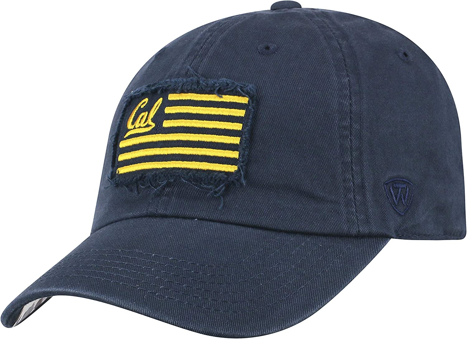 Top of the World Cal Bears Official NCAA Adjustable Flag 4 Hat Cap Curved Bill 419084