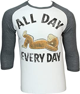 curious george all day everyday t shirt