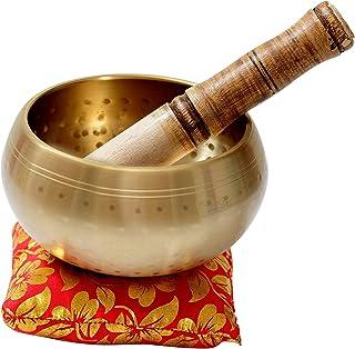 "Beautiful New Hand Hammered Tibetan Meditation Singing Bowl Brass Yoga Singing Bowl 5""bysunshine"