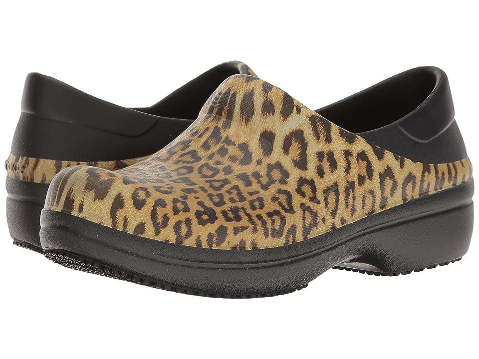 Crocs Neria Pro Graphic Clog (Black) Women's Clog/Mule Shoes