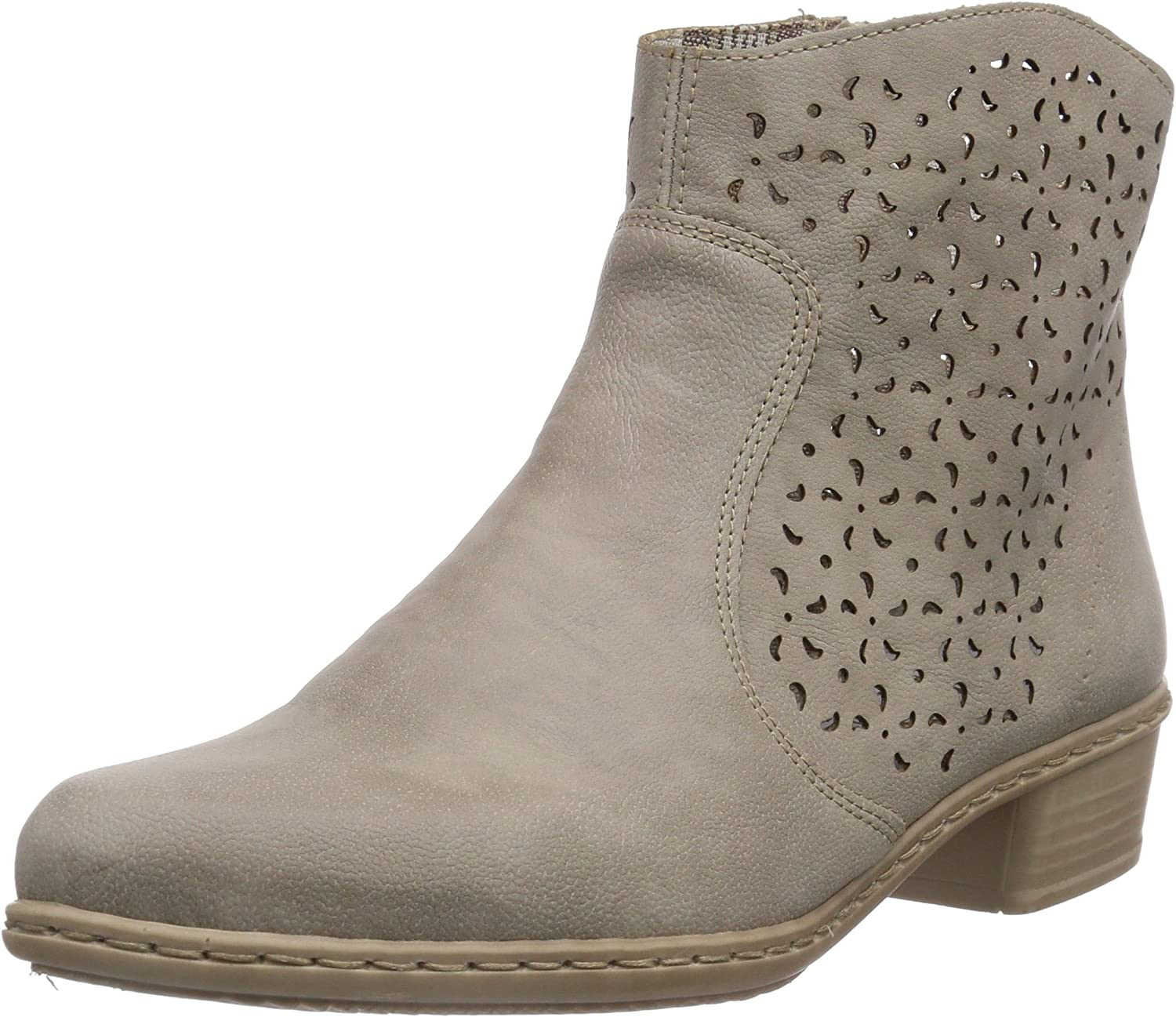 Rieker Womens Ankle Boots Grey