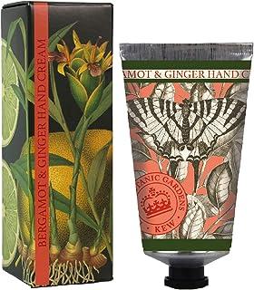 三和トレーディング English Soap Company イングリッシュソープカンパニー KEW GADEN Series キューガーデンシリーズ Luxury Hand Cream ラグジュアリーハンドクリーム Bergamot & Gi...