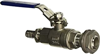 Weldless Stainless Steel Ball Valve and Spigot
