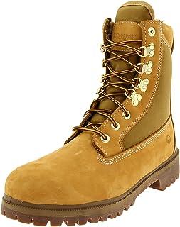 حذاء وولفرين الرجالي الذهبي المعزول والمضاد للماء 8 بوصة